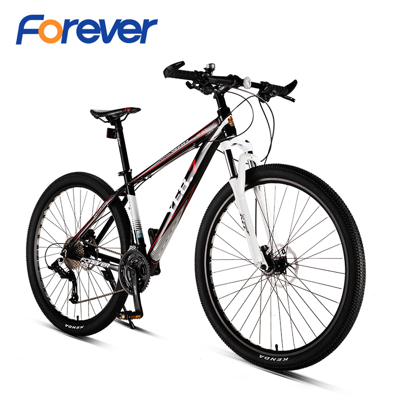 FOREVER Mountain Bike Racing Bike Double Oil Disc Brake Cycle Off Road Bicycles Shock Absorber Men 29 Inch 33 Variable Speed MTB