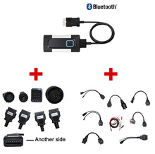 DHL FREE SHIP! V3.0 PCB WOW Snooper V5.008 R2 VD DS150E CDP Bluetooth Diagnostic Tool OBD2 Scanner+8pcs car cable+8 truck cable best quality multi vehicle diag mvdiag no bluetooth same as tcs v5 00 8 r2 free active 3 in1 for car truck mvd free ship