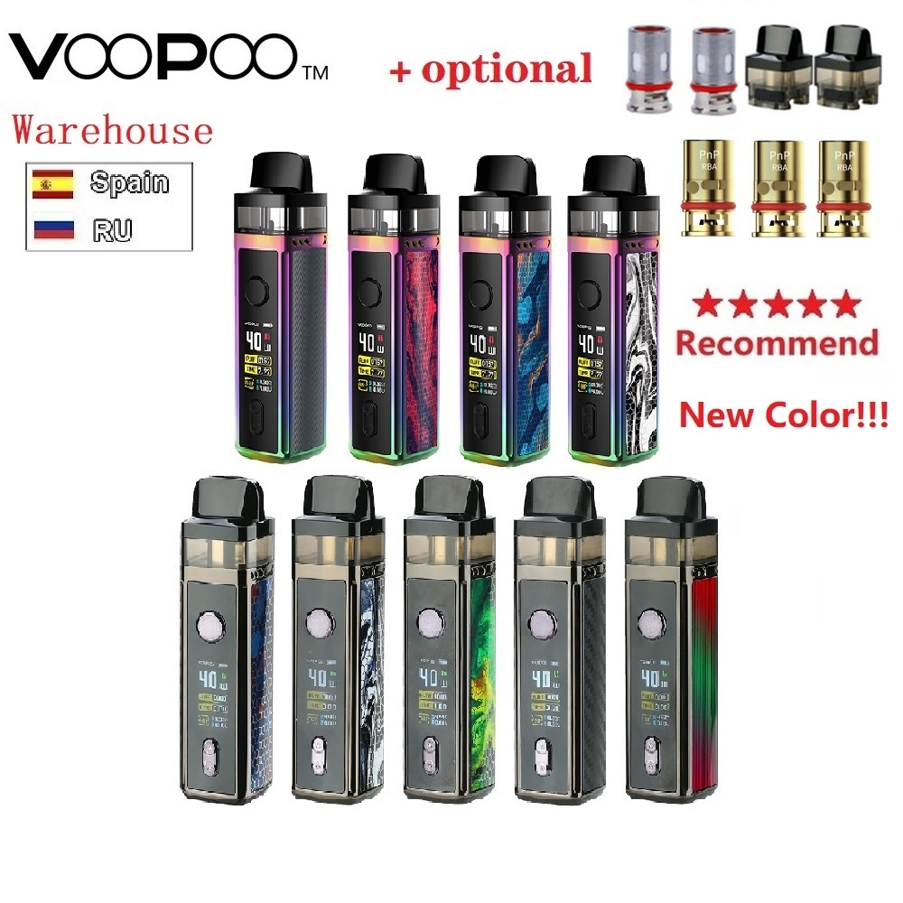 Hot Original VOOPOO VINCI Mod Pod Vape Kit E-cig W/ 1500mAh Battery & 5.5ml Pod & 0.96 Inch TFT Color Screen Vs Drag Nano/Shogun