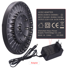 PAlO 36 Khe Cắm Đèn LED Thông Minh Thông Minh Aa Aaa Pin Sạc 1.2V AA AAA NiCD NiMH Pin Sạc Nhanh sạc