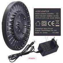 PAlO 36 yuvaları LED akıllı akıllı aa aaa pil şarj cihazı için 1.2V AA AAA NiCD NiMH şarj edilebilir pil hızlı şarj
