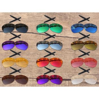 Vonxyz 20+ Color Choices Polarized Replacement Lenses & Ear Socks for-Oakley Crosshair New 2012 OO4060 Frame vonxyz multiple choices polarized replacement lenses for oakley latch sq oo9353 sunglasses