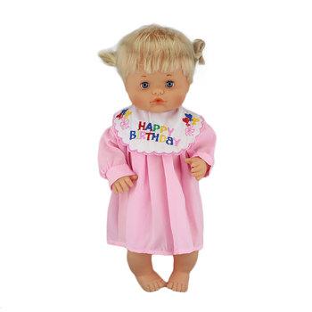 Ubrania dopasowane 40cm 41 cm Nenucos lalka Nenuco Ropa y su Hermanita fioletowe długie rękawy T-shirt fioletowe kropki spodnie z kapeluszem tanie i dobre opinie Tkaniny Suit Dress Akcesoria dla lalek Unisex Moda