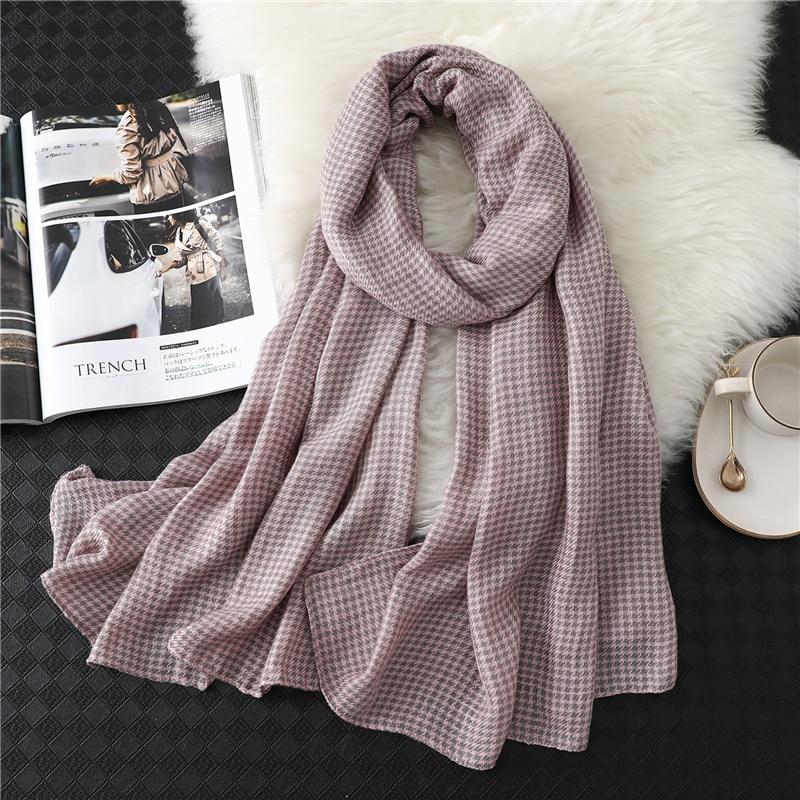 Plaid Scarf Women 2019 New Brand Designer Winter Neck Scarves Foulard Femme Long Soft Shawls And Wraps Cashmere Pashmina Hijab
