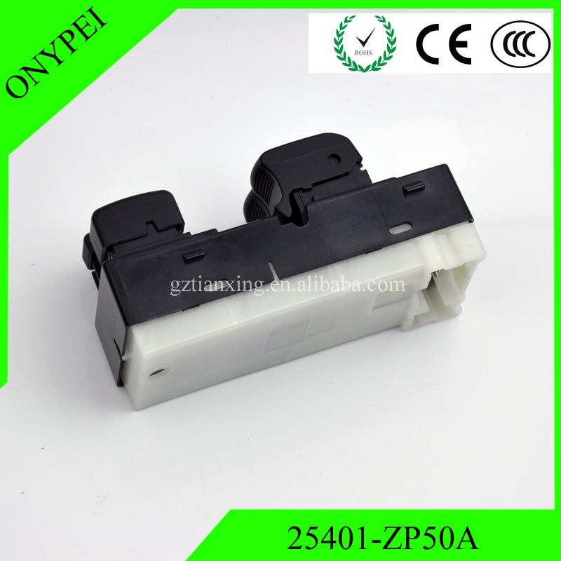 Aukson Power Window Master Control Switch 25401-ZP50A Fits for Nissan Frontier 2007-2012