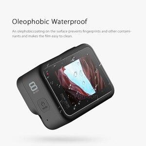 Image 5 - Vamson for GoPro Hero 8 Black Tempered Glass Lens + LCD Screen Protector Protective Film for Go Pro 8 VP720