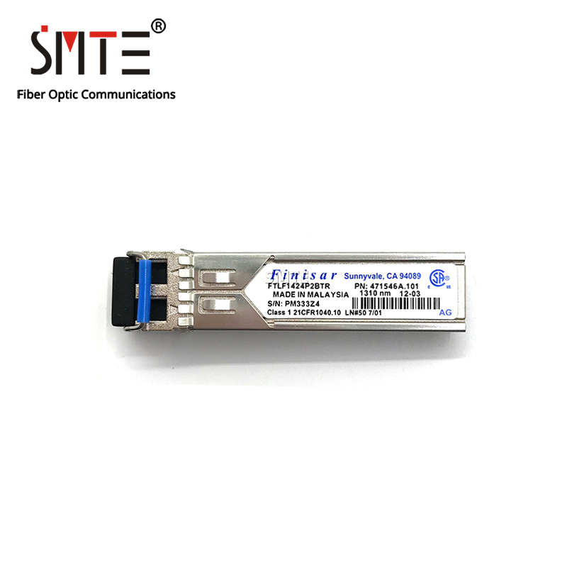 Finisar FTLF1424P2BTR Single-mode Module 4G-10km-1310nm-SFP