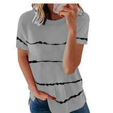 Summer Tops Women Short Sleeve T-Shirt Fashion O-Neck Loose Casual Solid Ladies T-Shirt Female Pullover Loose Plus Size t Shirt