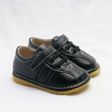 MERABLLE/повседневная кожаная обувь для мальчиков; новые спортивные детские кроссовки для мальчиков; сезон весна-осень; обувь для бега для детей со звуком