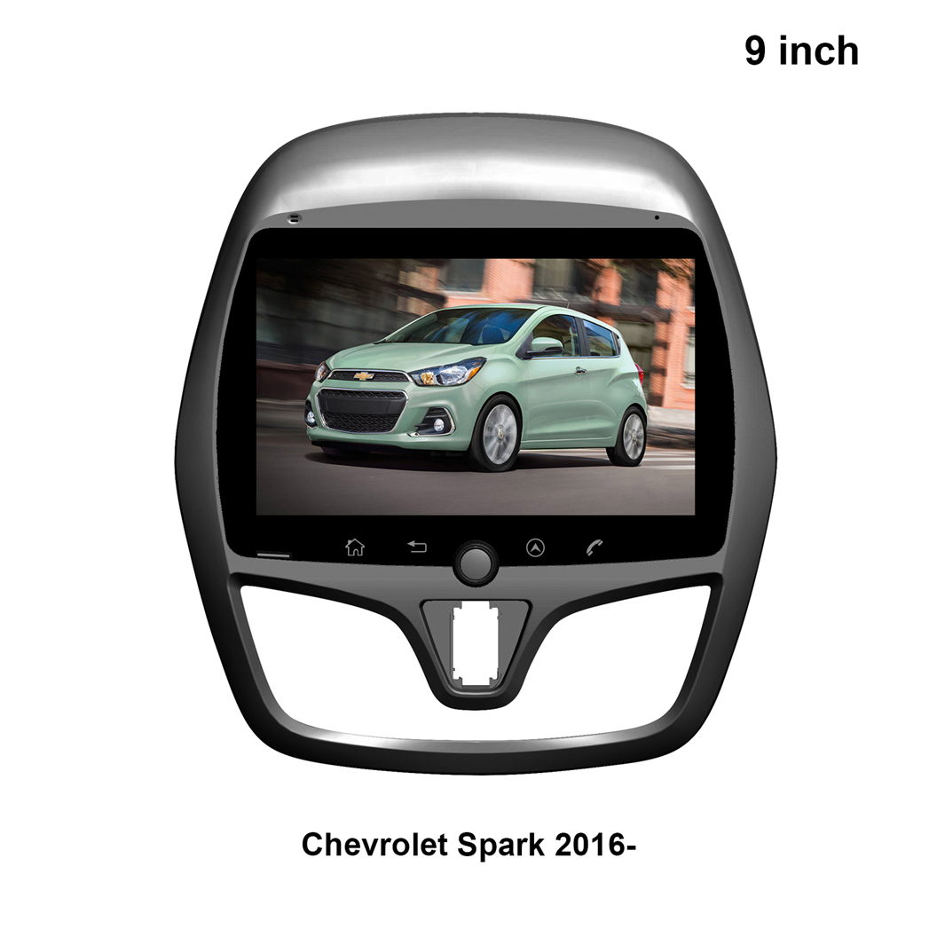 Chogath 9 inch car Multimedia Player 4G RAM Android 9.0 Car Radio GPS Navigation for <font><b>Chevrolet</b></font> <font><b>Spark</b></font> <font><b>2017</b></font> 2018 image