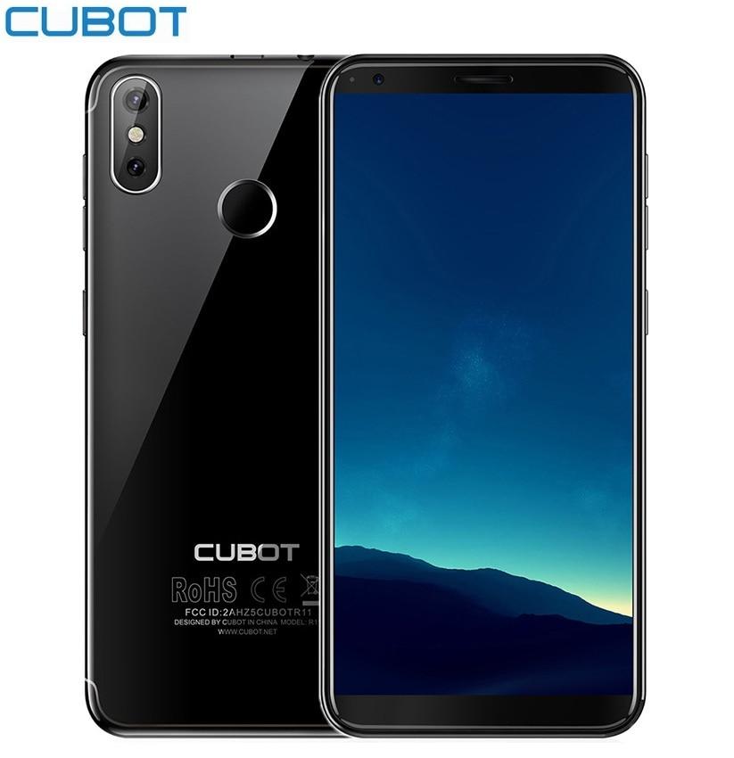 Refurbished CUBOT R11 3G Smartphone Android 8.1 2GB RAM 16GB ROM 5.5 Inch MTK6580 1.3GHz Quad Core Fingerprint Cellphones