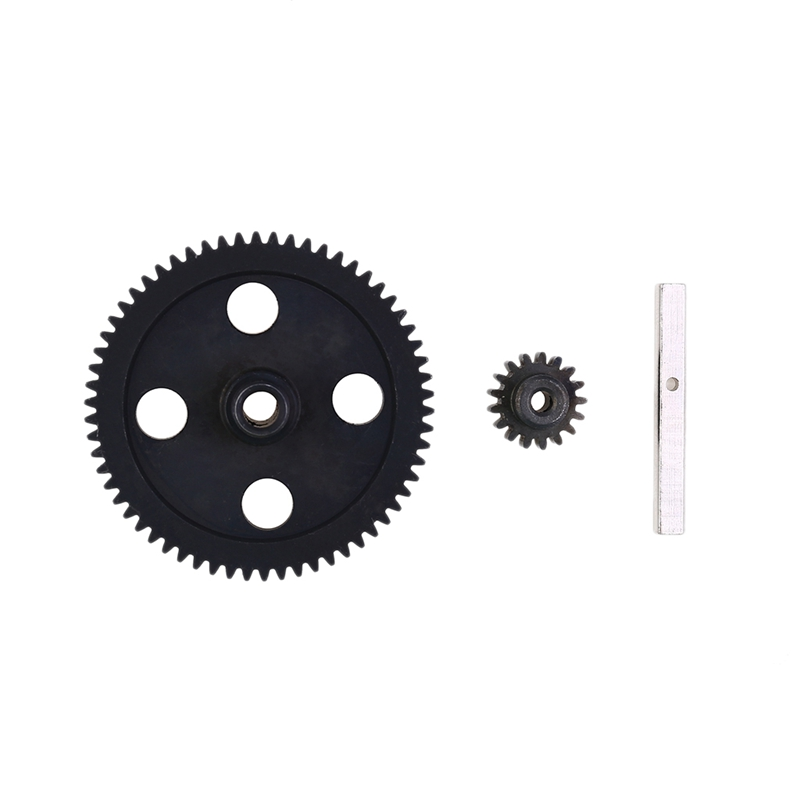 Spur Diff Main Gear 62T Reduction Gear 0015 for <font><b>WLtoys</b></font> <font><b>12428</b></font> 12423 1/12 RC Car Crawler Short Course Truck Upgrade Parts image