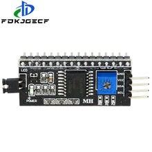 Модуль последовательной платы с портом PCF8574, интерфейсный модуль IIC/I2C/TWI/SPI, ЖК-дисплей 1602 2004, 1 шт.