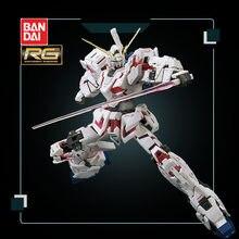 Bandai – figurines de dessin animé Gundam, modèle RG 25 1/144 RX-0, licorne, Mode de destruction, décoration déformable