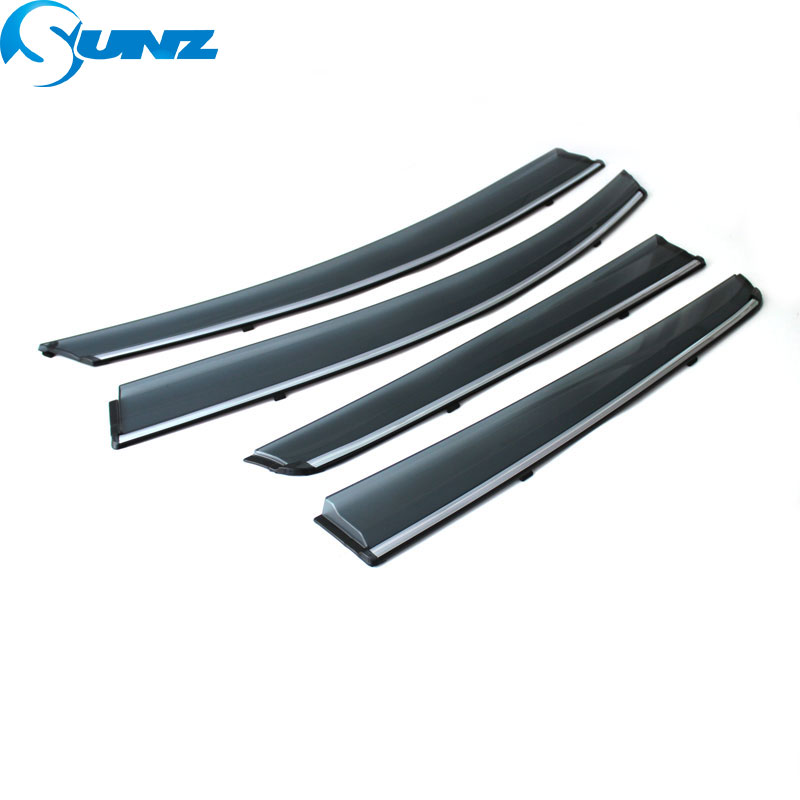 Image 2 - Car Window Deflector Visor For FORD TAURUS  2016 2017 2018 Winodow Visor Vent Shades Sun Rain Deflector Guard SUNZ-in Awnings & Shelters from Automobiles & Motorcycles