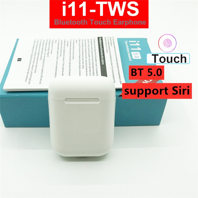 Touch control i11 tws air 2 upgrade Drahtlose Bluetooth 5,0 Kopfhörer super <font><b>bass</b></font> pk i10 tws i20 tws i30 i60 TWS für xiaomi iphone image