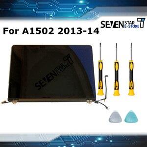 Image 1 - Original Neue A1502 Volle Anzeige für Macbook Pro Retina 13 A1502 lcd montage Später 2013 Mid 2014 EMC 2678/2875