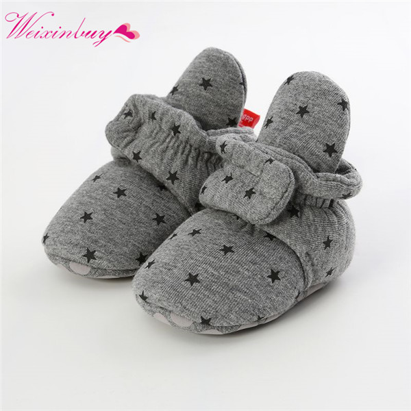 Winter Plus Velvet Baby Shoes Newborn Baby Girls Shoes Soft Sole First Walkers Infant Footwear Toddler