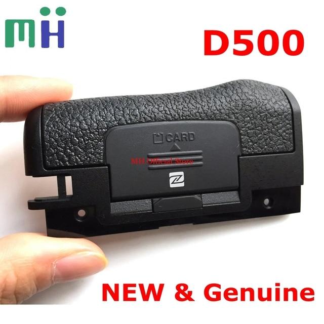 NEW For Nikon D500 SD Memory Card Cover Lid Door Rubber 11U94 Camera Replacement Unit Repair Spare Part