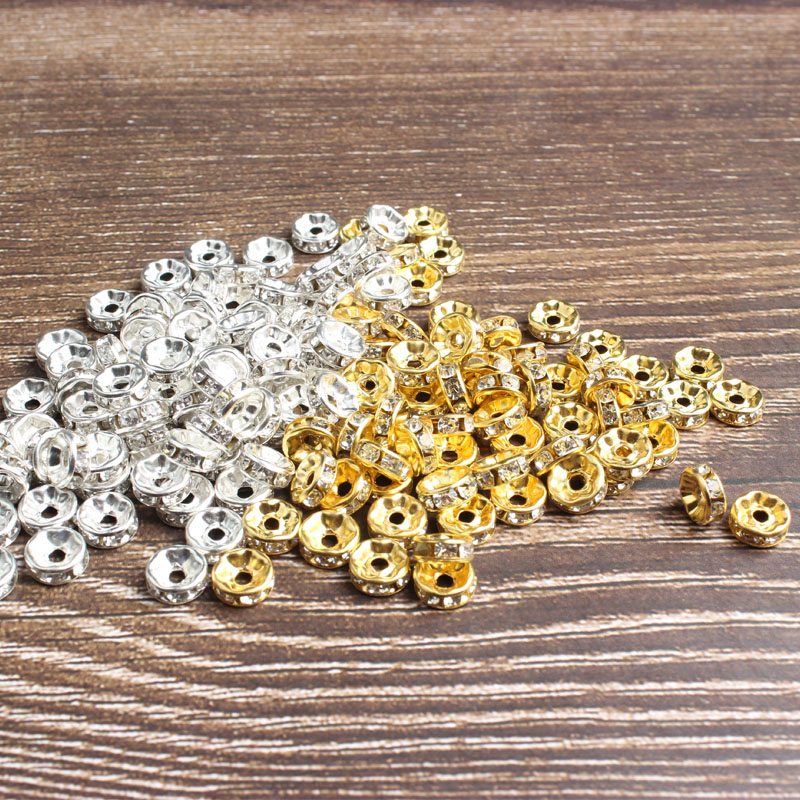 LanLi 4/5/6/8/10MM 550PCS-46PCS Jumping Through Hoops DIY Fashion Jewelry Findings Making Box Jewelry Tool Beads Accessories