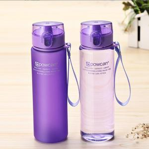 New Fashion Water Bottle Plastic Portable Student Bottle Female Summer Sports Children Trend Leisure Creative Water Bottle