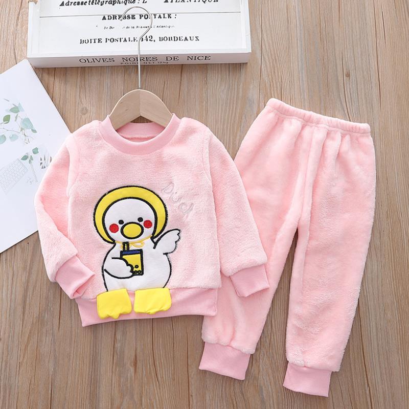 conjunto de pijamas flanela para criancas 04