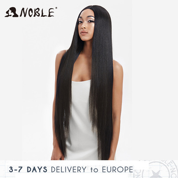 Noble Cosplay Wigs For Black Women Straight Synthetic Lace Front Hair 38 Inch Ombre Lace Front Wig Cosplay Blonde Lace Front Wig