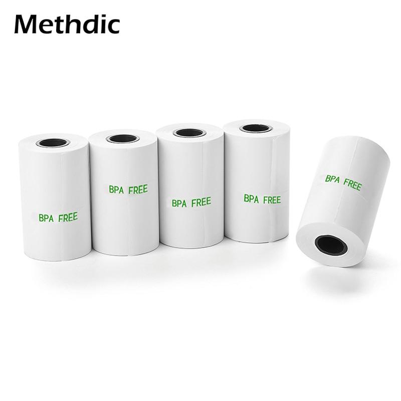 Methdic 10rolls Thermal Paper 57x30mm Cash Register Paper Till Roll