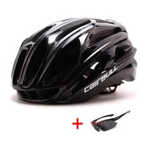 Image 5 - Uomo donna casco da ciclismo da corsa ultraleggero casco da bicicletta MTB modellato integralmente sport allaria aperta Mountain Bike casco da bici da strada