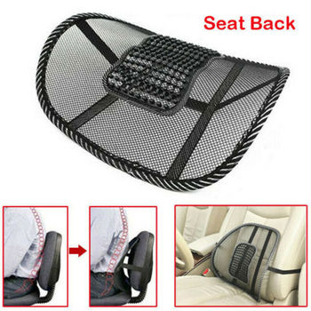 Lumbar Back Support Spine Posture Correction Back Pillow Car Cushion For Car Truck Seat Office Chair beautiful magic cushion seat back cushion lumbar back supporter deep pink