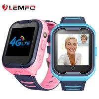 LEMFO G4H 4G ילדים חכם שעון GPS Wifi עם כרטיס ה-SIM שיחת וידאו עמיד למים 650Mah סוללה 2021 Smartwatch עבור ילד אנדרואיד IOS שעון לילדים