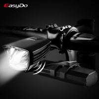Easydo StVZO Certification Bicycle Light Professional MTB Road Bike Headlight Waterproof USB Charging LED Front Lamp Power Bank