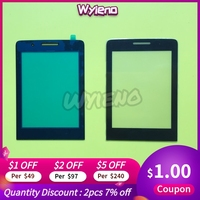 Wyieno CTE570 Outer Glass Screen For Philips Xenium E570 Glass Lens Front Panel ( Not touch screen Sensor) Tracking