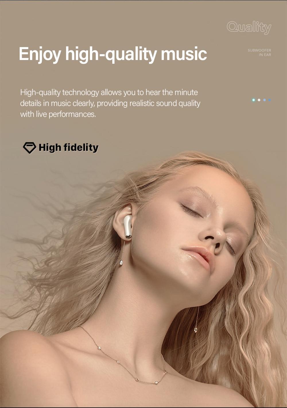 Original Lenovo LP1s TWS Wireless Earphone Bluetooth Touch Earbuds