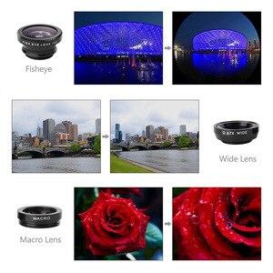 Image 5 - Universalมุมกว้างเลนส์กล้องโทรศัพท์มือถือFish Eyeเลนส์สำหรับโทรศัพท์กล้องโทรทรรศน์Telephoto Telephoto Telephotoชุดสมาร์ทโฟนสำหรับSamsung Huawei