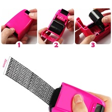 Identity Privacy Protection Roller Stamp Portable Mini Covering Stamps Security Seal / Refill Wheel