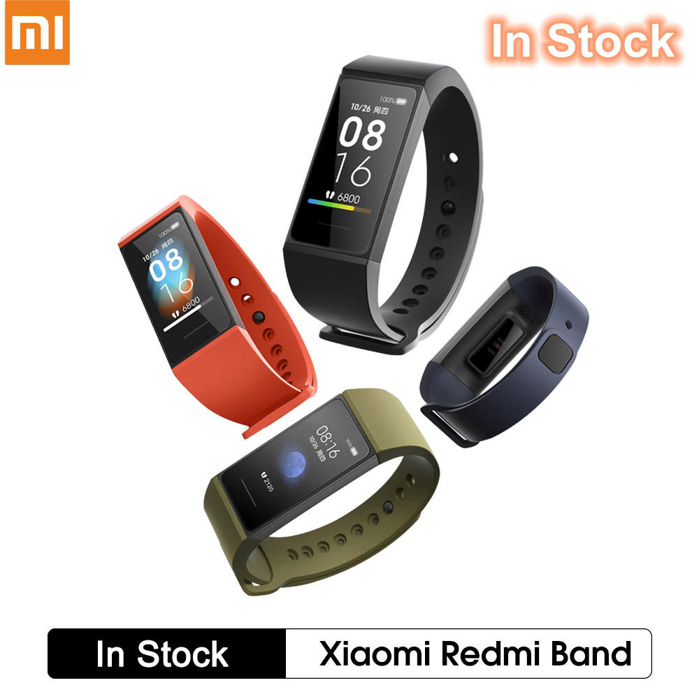 "Xiaomi Redmi Band Fitness Tracker Waterproof Smart Bracelet 1.08"" Touch Color Screen Smart Wristband PK Mi Band 5 4 In Stock"