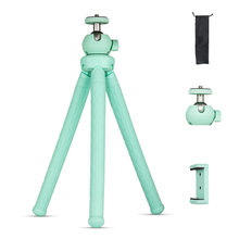 Phone Tripod Portable Camera Octopus Tripods Holder With Clip Handheld Tripode Para Movil Bracket Monopod Selfie Sticks Stands tripod weifeng wf 3958m camera tripods monopod slr camera portable travel tripods support foot tripods