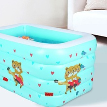 цена на Kids Pool bathtub Family baby ocean ball pool baby swimming ring pool inflatable toy