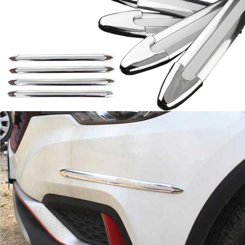 Universal Car przednia osłona tylnego zderzaka osłona pasek gumowy zderzak samochodowy płyta ochronna elastyczny klej Scratch Sticker Adhesive