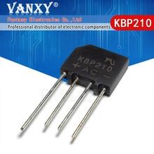 10 pces kbp210 2a 1000 v ponte retificador novo e original ic