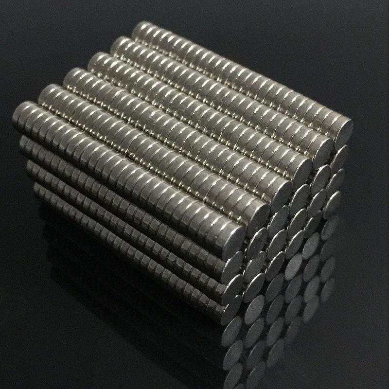 New 200/100pcs Bulk Small Round NdFeB Neodymium Disc Magnets Dia 4mm X 1mm N35 Super Powerful Strong Rare Earth NdFeB Magnet