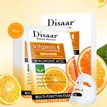 10 pces vitamina c hidratante máscara facial refrescante controle de óleo máscara facial anti-envelhecimento reabastecimento de profundidade encolher poros máscara