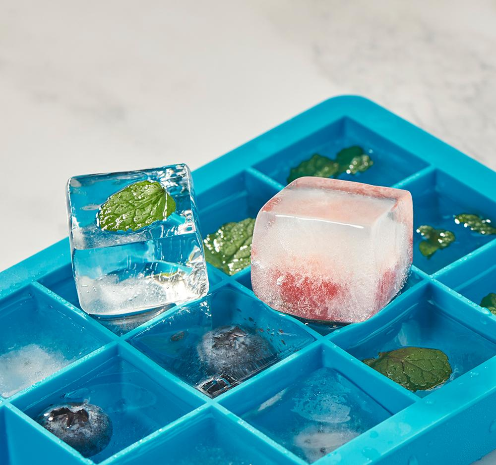 Silicone ice cube trays 3pack