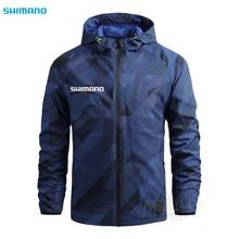 2021 nouveaux hommes à capuche imperméable auti-uv crème solaire Shimanos pêche vêtements Daiwa respirant randonnée Camping Sport pêche veste