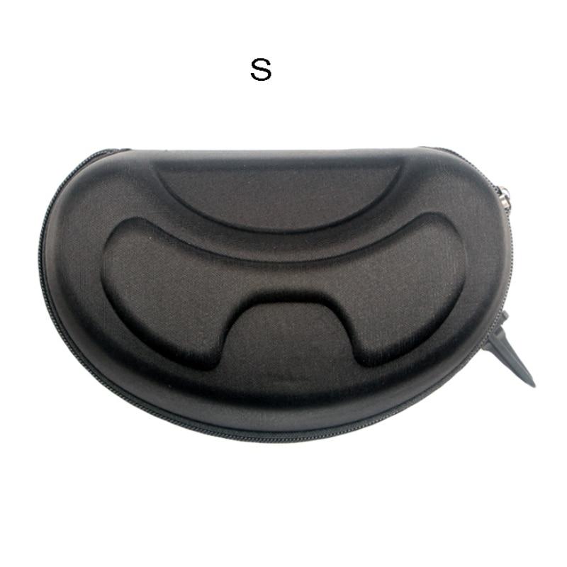 Snow Ski Eyewear Case Zipper Sunglasses Glasses Hard Cases Protector Bags Box Holder With Hook