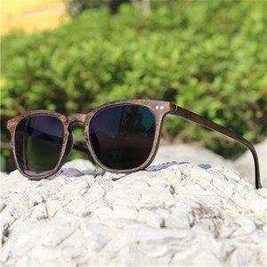 Image 3 - NYWOOH fotochromowe wykończone okulary dla osób z krótkowzrocznością kobiety mężczyźni imitacja drewna rama Student 1.56 soczewka asferyczna krótkowzroczne okulary