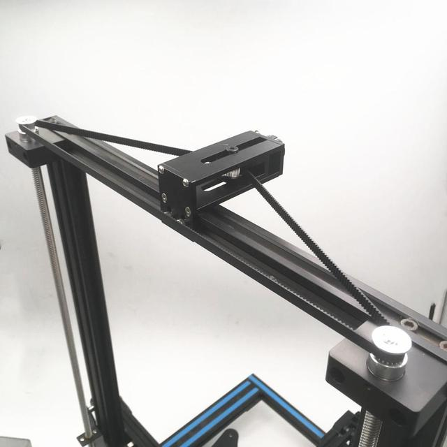 1 סט Creality אנדר 3 פרו CR 10/10 s כפולה Z ציר שדרוג עיתוי חגורת Synchronizer tensioner עבור creality 3D מדפסת חלקי