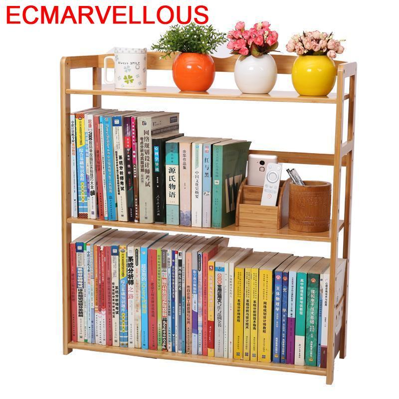 Wall Shelf Cabinet Librero Estanteria Madera Display Decoracao Meuble Rangement Vintage Furniture Book Retro Bookshelf Case