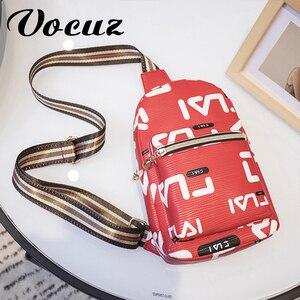 VOCUZ Новая женская нагрудная сумка модная брендовая Водонепроницаемая Женская поясная сумка через плечо для женщин 2020 мини сумка